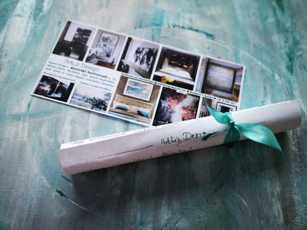 az artliz design ajándékutalvány ideális ajándék